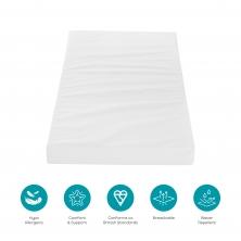 Tutti Bambini FIBRE Cot Bed Mattress (140 X 70cm)