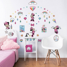 Walltastic Wall Stickers-Disney Minnie Mouse