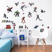 Walltastic Wall Stickers-Marvel Avengers