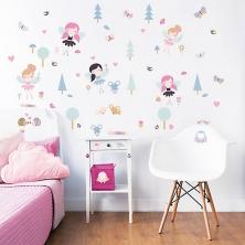 Walltastic Wall Stickers-My Woodland Fairies & Friends