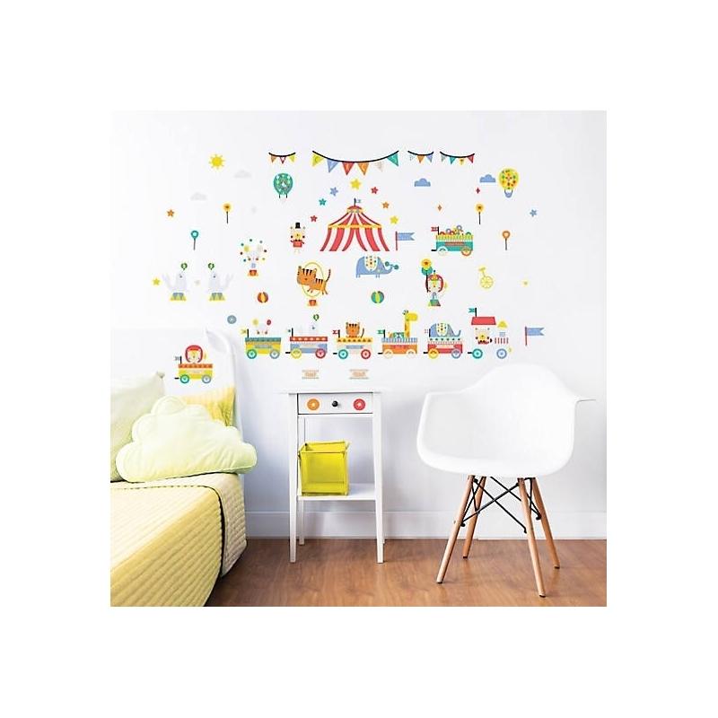 Walltastic Wall Stickers-Circus