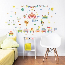 Walltastic Wall Stickers-Circus