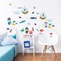 Walltastic Wall Stickers-Pirate