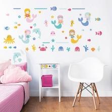Walltastic Wall Stickers-Mermaid