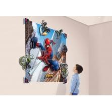 Walltastic 3D Pop-Out Wall Decoration-Spider-Man