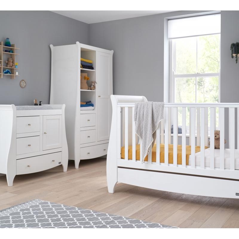 Tutti Bambini Lucas 3 Piece Room Set-White