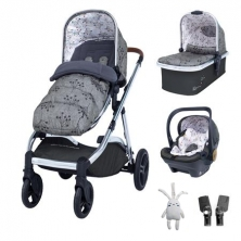 Cosatto Wow XL Travel System-Hedgerow