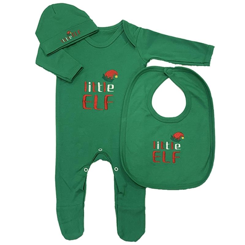 Little Elf Baby Grow Bundle