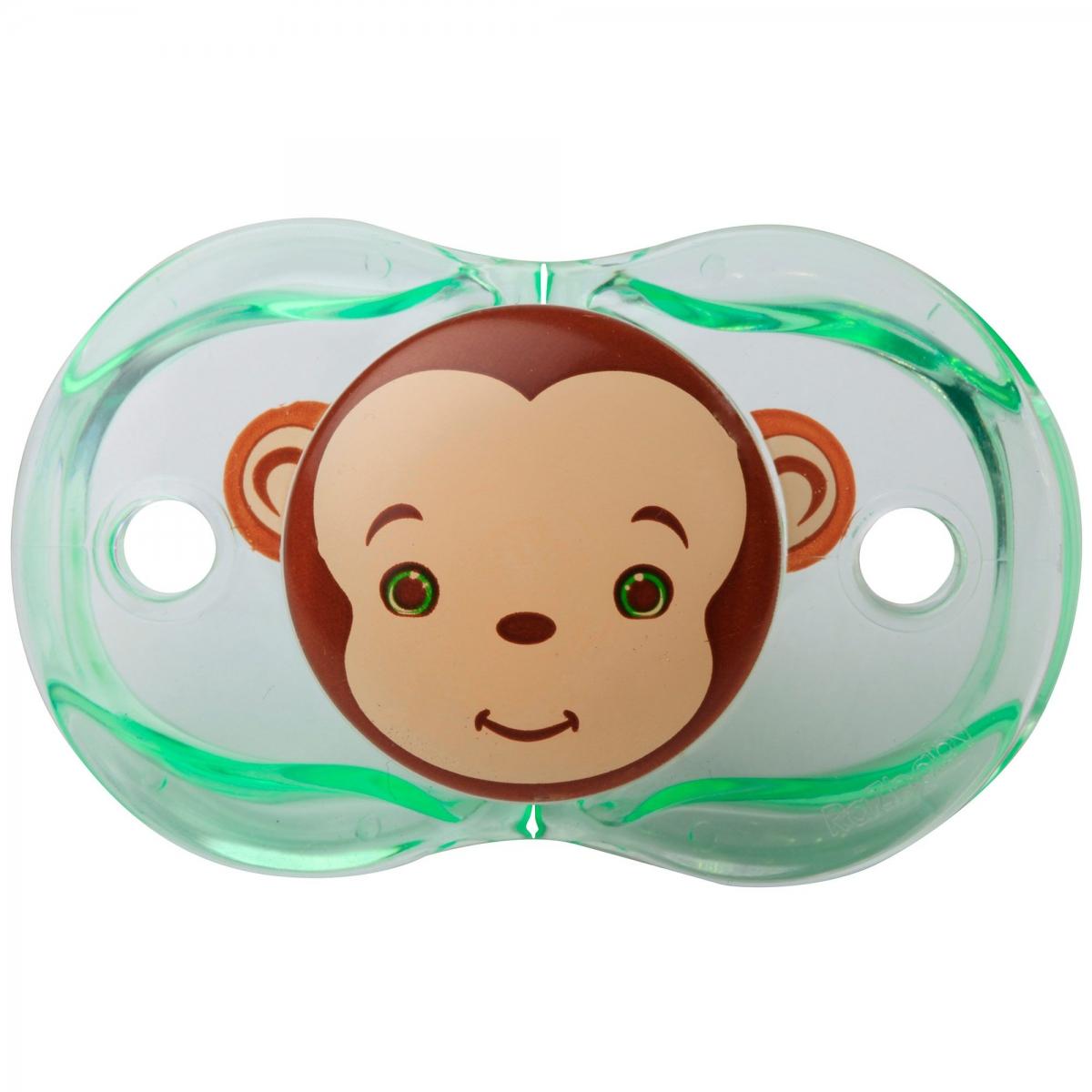 RaZBaby Keep It Kleen Pacifier Monkey
