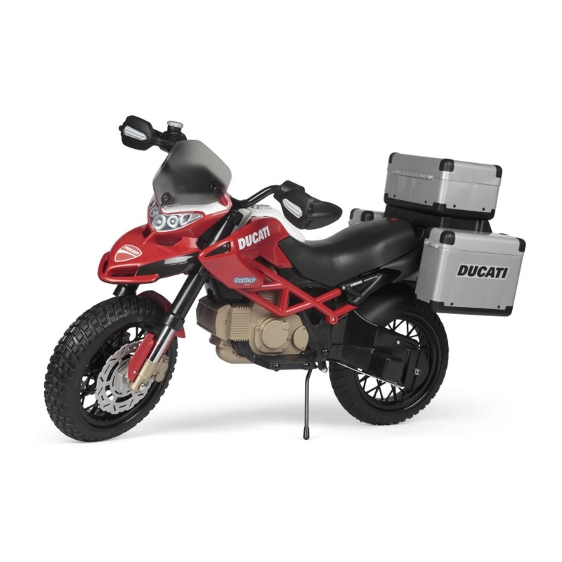 Peg Perego Ducati Enduro Electrical Motorcycle- Red