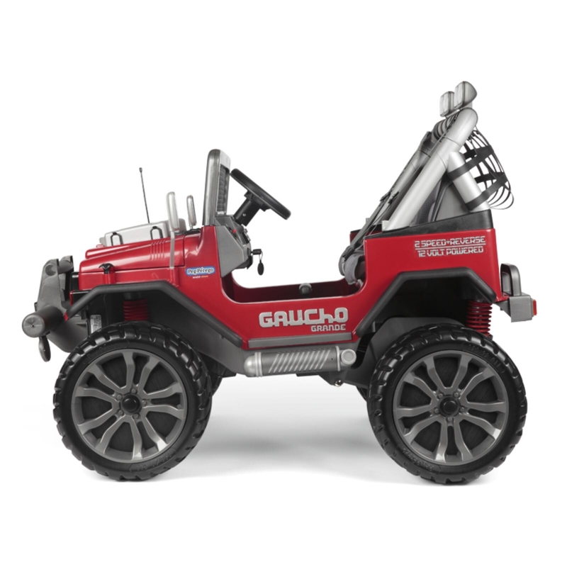 Peg Perego Gaucho Grande Electric Ride On Jeep- Red