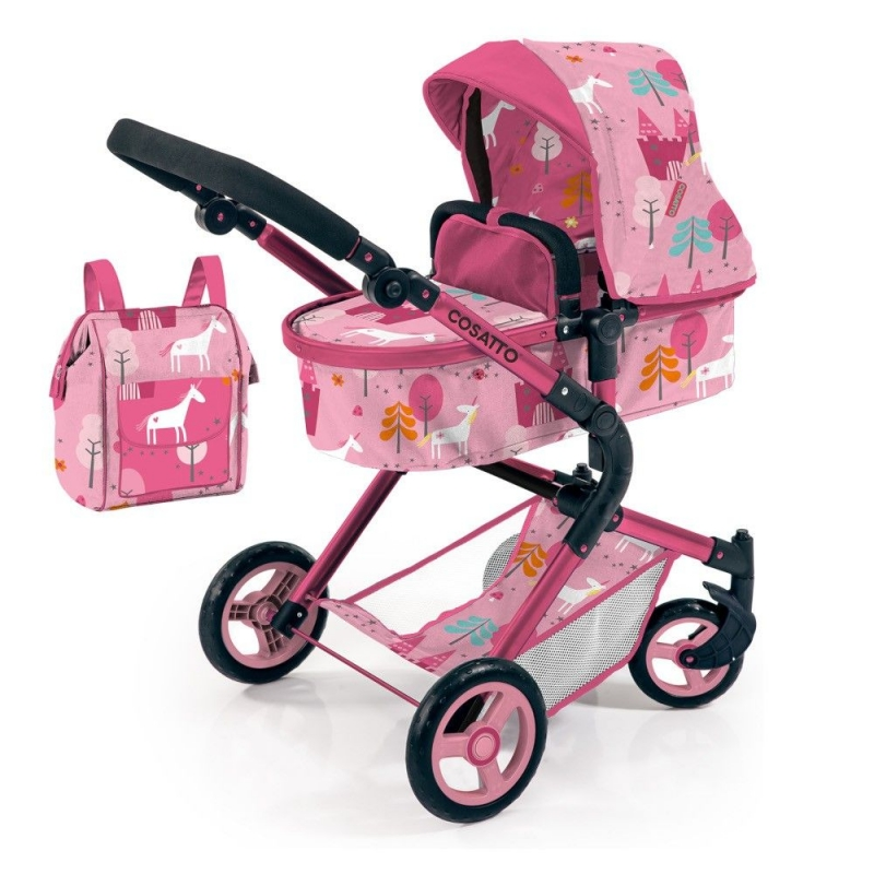 Cosatto Wonder Dolls Pram-Unicorn Land