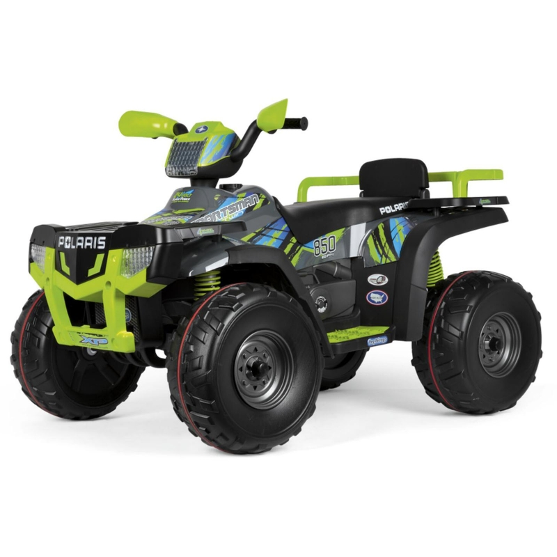 Peg Perego Polaris Sportsman 850 Ride On Quad Bike  Lime