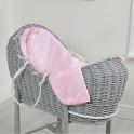 Clair De Lune Noah Pod Dimple Basket-Pink