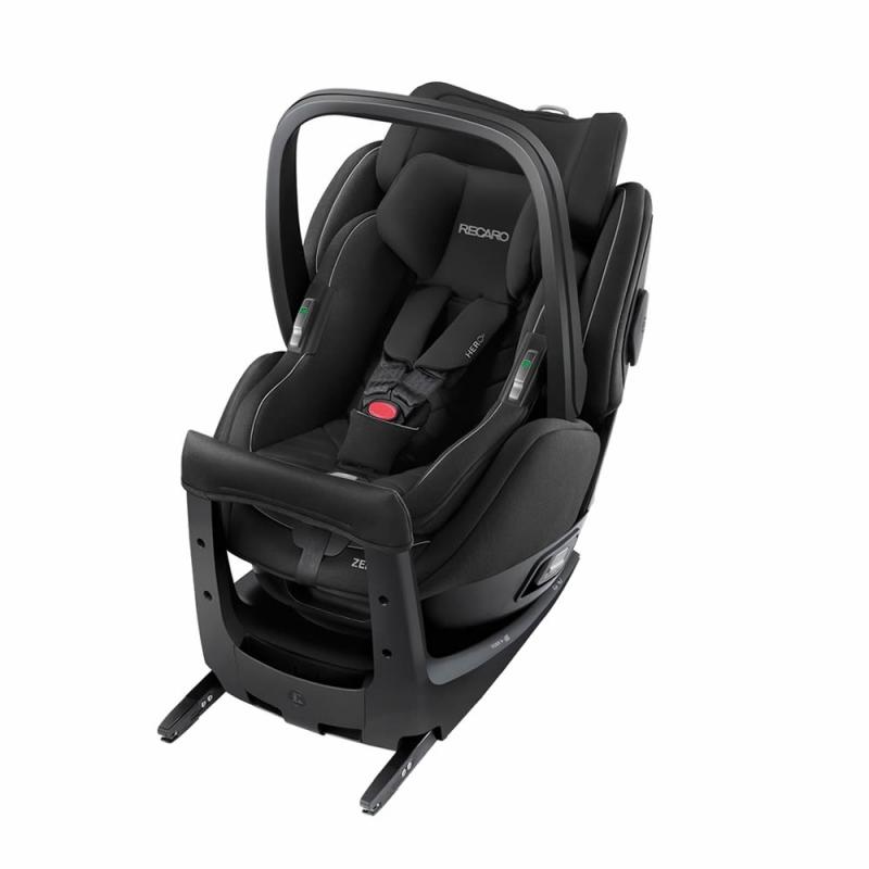 Recaro Zero 1 Elite Car Seat-Performance Black (New 2020)