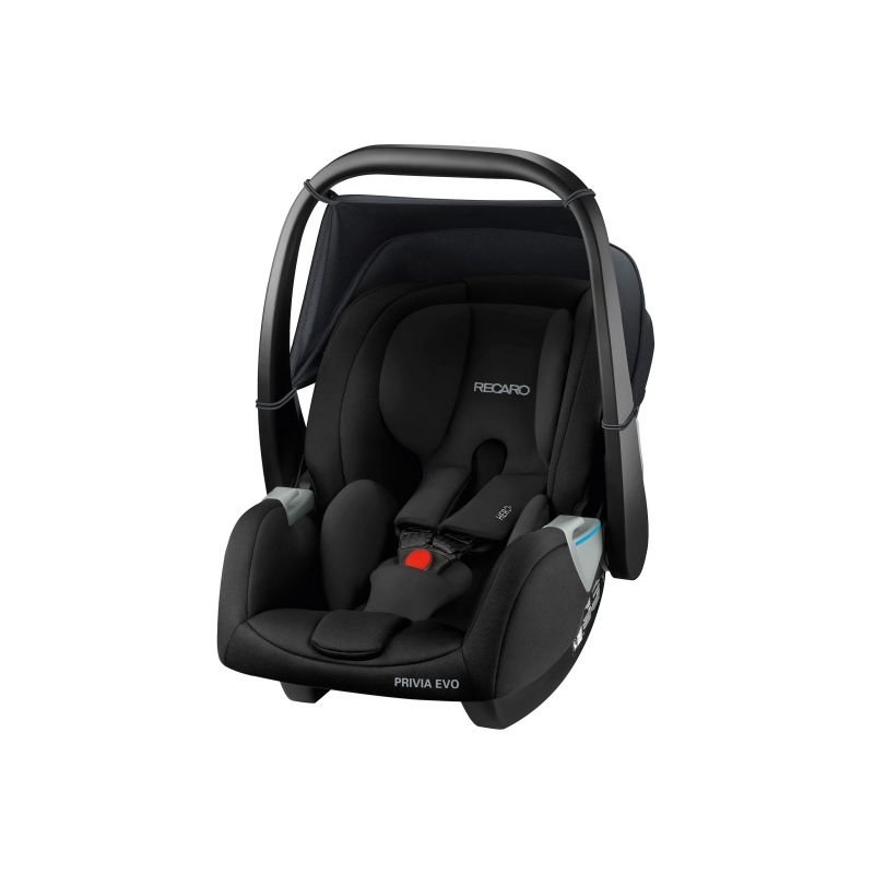 Recaro Privia Evo Group 0+ Infant Car Seat-Performance Black (New 2020)