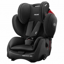 Recaro Young Sport Hero Group 1/2/3 Car Seat-Performance Black (New 2020)