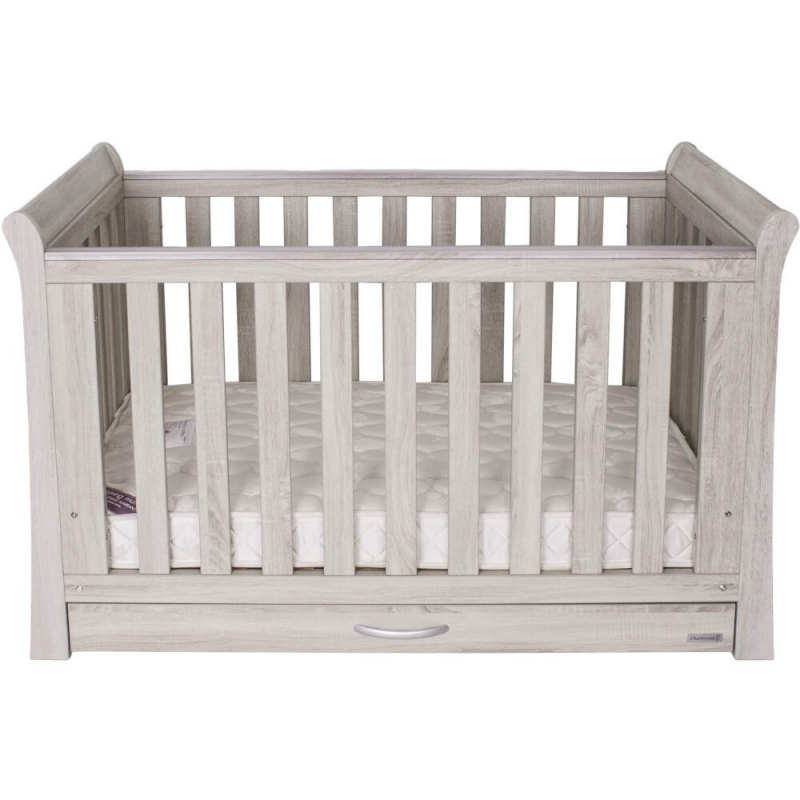 BabyStyle Noble Cot Bed With Underbed Drawer + Free Foam Mattress!