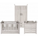 BabyStyle Noble 3pc Room Set + Free Sprung Mattress Worth £79!