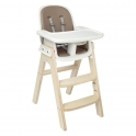 Oxo Tot Sprout Highchair-Taupe/Birch