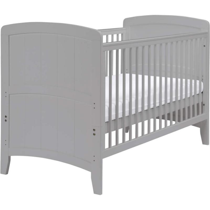 East Coast Venice Cot Bed-Grey