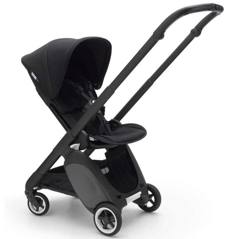 Bugaboo Ant Stroller in Black Chassis-Black