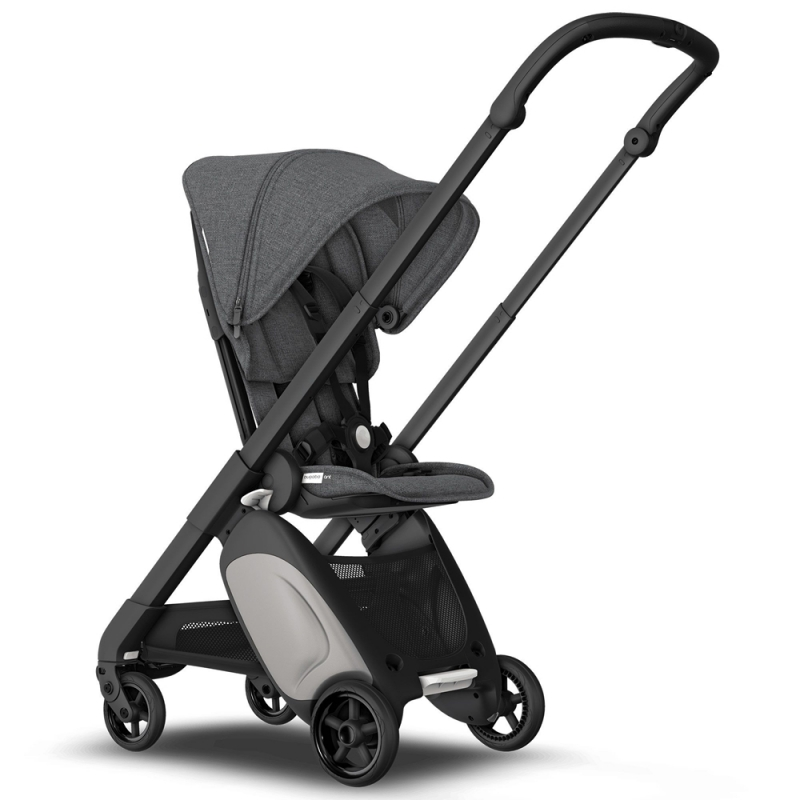 Bugaboo Ant Stroller in Black Chassis-Grey Melange