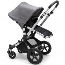 Bugaboo Cameleon3 Plus Pushchair-Grey Melange/Aluminium