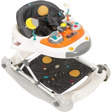 My Child 2in1 Walker Rocker-Space Shuttle- Cosmic Grey