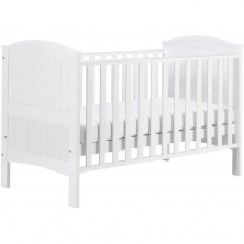 East Coast Alby Cot Bed-White