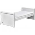 East Coast Nebraska Sleigh Junior/Toddler Bed-White