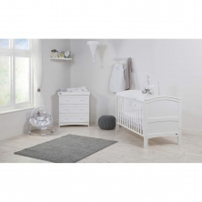 East Coast Alby 2 Piece Roomset-White