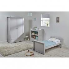East Coast Nebraska Toddler Bed 3 Piece Room set-Grey