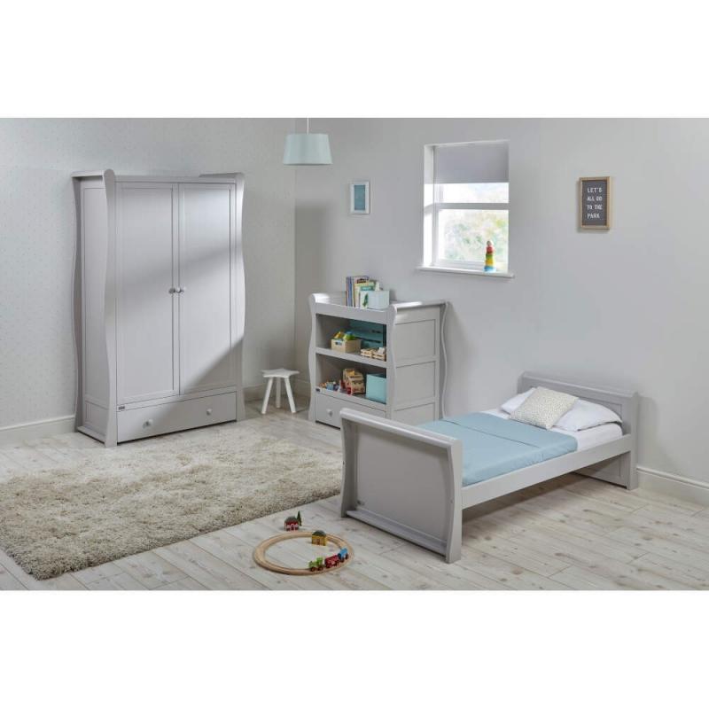 East Coast Nebraska Toddler Bed 3 Piece Roomset-Grey