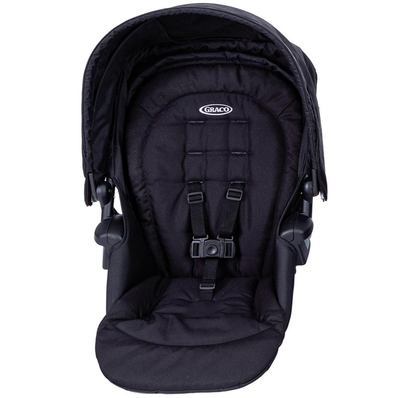 Graco Time2Grow Toddler Seat- Black