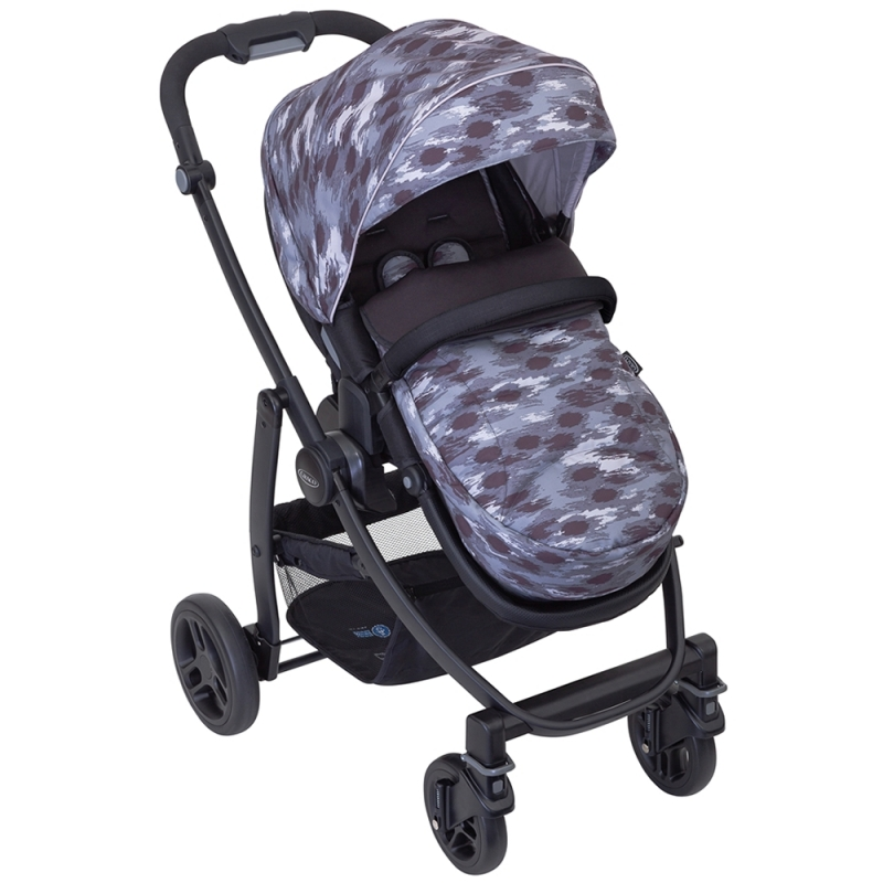 Graco Evo Stroller With Apron & Raincover- Camo