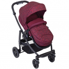 Graco Evo Stroller With Apron & Raincover- Red Leopard*