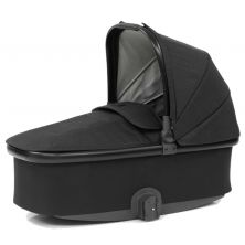 Babystyle Oyster 3 Black Finish Carrycot-Noir