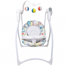 Graco Lovin Hug Swing- Patchwork