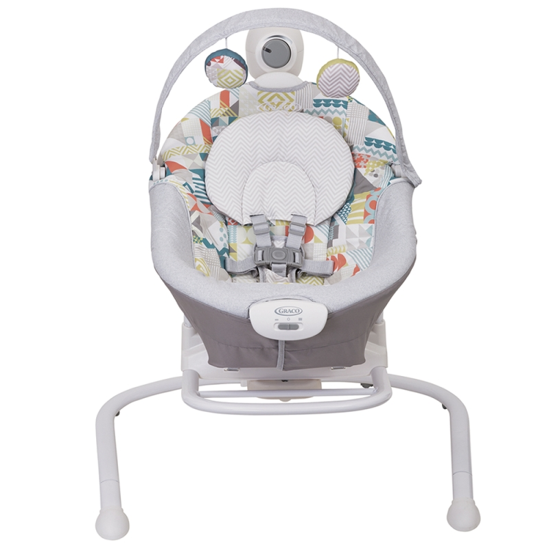 Graco Duet Sway 2in1 Swing And Rocker- Patchwork