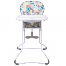 Graco Snack N Stow Highchair- Patchwork