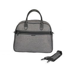 iCandy Peach Changing Bag & Hook-Dark Grey Twill