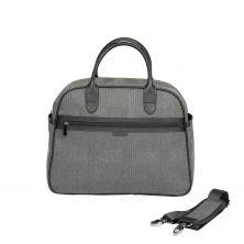 iCandy Peach Changing Bag & Hook-Dark Grey Check