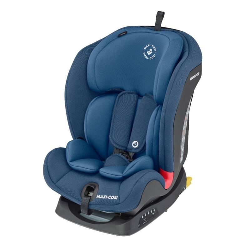 Maxi Cosi Titan Group 1/2/3 Car Seat-Basic Blue (NEW 2019)