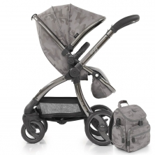 egg® Special Edition Stroller With Changing Bag & Seat Liner-Camo Grey