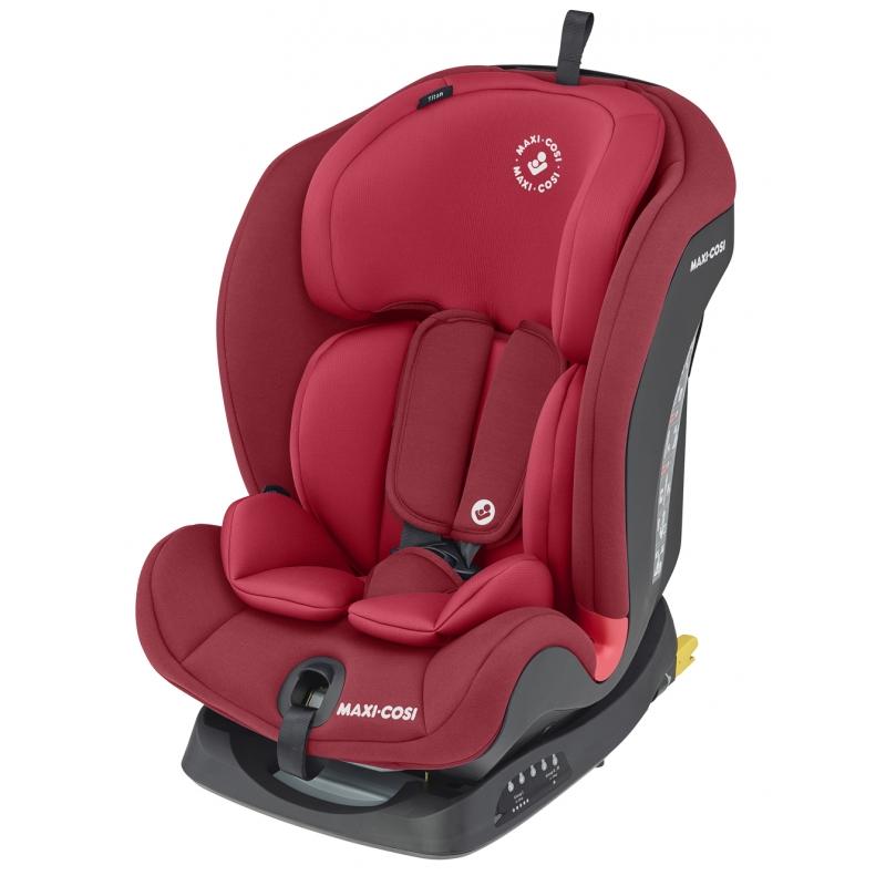 Maxi Cosi Titan Group 1/2/3 Car Seat-Basic Red (NEW 2020)