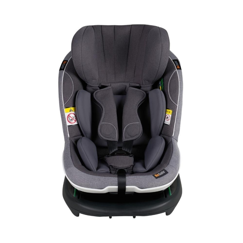 BeSafe iZi Modular X1 i-Size Group 1 Car Seat-Metallic Melange