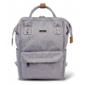BabaBing Mani Backpack Changing Bag-Grey Marl