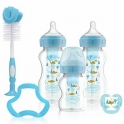 Dr Brown Options+ Anti-Colic Bottle Gift Set- Blue
