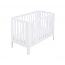Babymore Iris Cot Bed-White